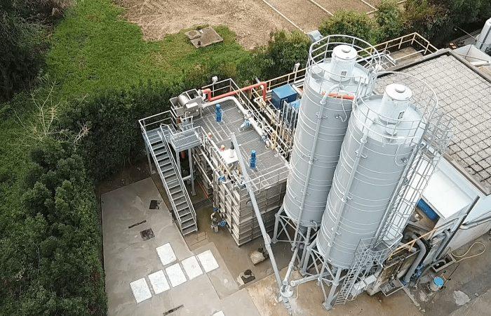 Nelle Marche il primo innovativo impianto tecnologico che trasforma i fanghi di depurazione in un fertilizzante