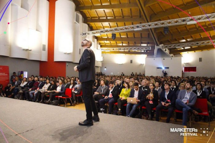 Manca poco all'inizio del MARKETERs Festival, l'appuntamento è per questo sabato 24 novembre.