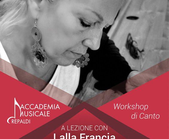 Accademia Musicale Crepaldi ospita la cantante italiana Lalla Francia - domenica 24 marzo, Pogliano Milanese (Milano)