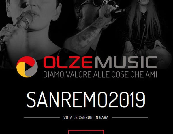 La Classifica di SANREMO stilata da OLZEMUSIC