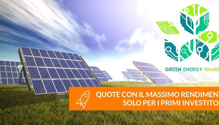 Al via l'Equity Crowdfunding di Green Energy Sharing per investire nel green anche con pochi capitali