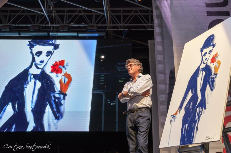 Al pittore torinese De-Coll' il Premio Charlot