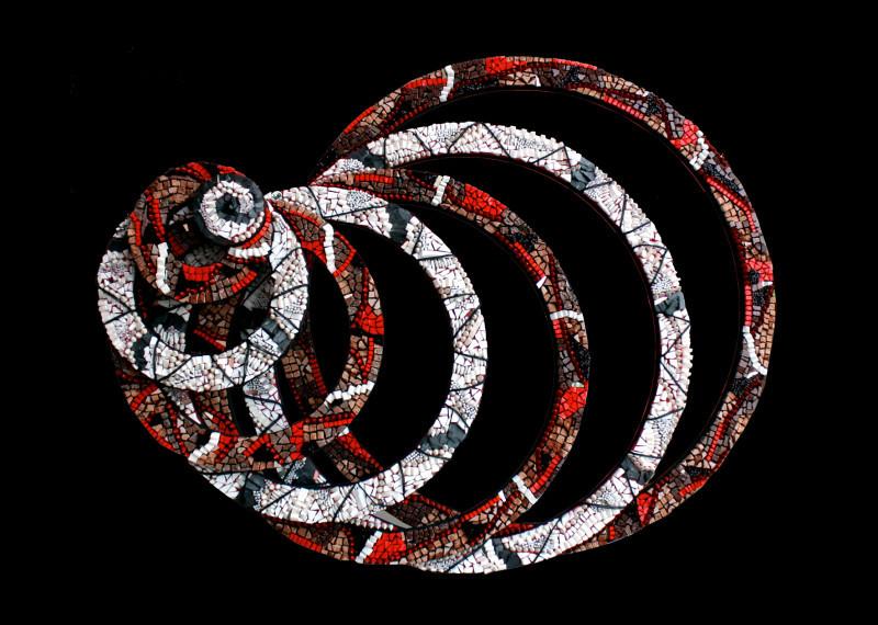 """""""Mondi Circolari""""  - Mostra di mosaici circolari di Veronica Pollini, a cura di Silvia Agliotti"""